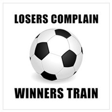 Soccer Winners Train Wall Art Canvas Art