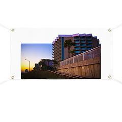 Tropical Coastal Landscape an Banner