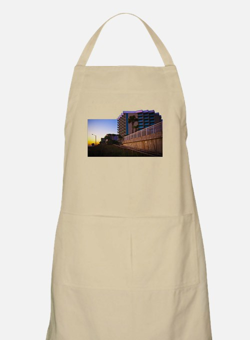 Tropical Coastal Landscape an Apron