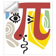 Pi Symbol Pi-casso Wall Art Wall Decal
