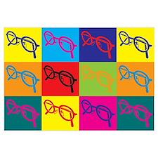 Optics Pop Art Wall Art