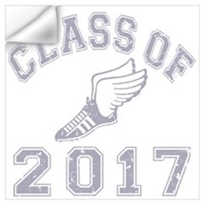 Class Of 2017 Track & Field Wall Art Wall Decal