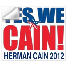 Herman Cain 2012 Wall Art Wall Decal