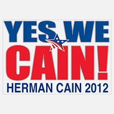 Herman Cain 2012 Wall Art