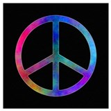 Peace sign Posters