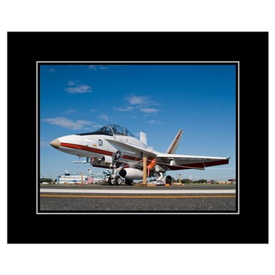 F18 TPS 16x20 Poster Poster