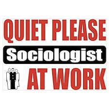 Sociologist Work Wall Art