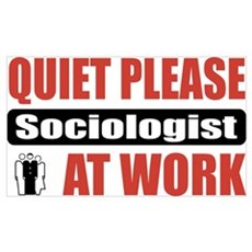 Sociologist Work Wall Art Poster