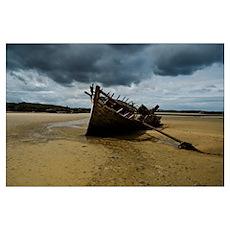 Shipwreck (Wall Art) Poster