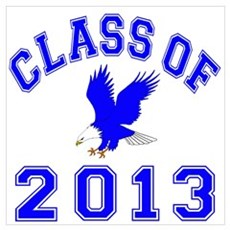 Class Of 2013 Eagle Wall Art Poster