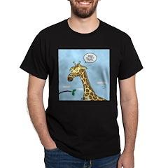 Giraffe Foraging Foibles T-Shirt