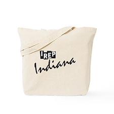 I rep Indiana Tote Bag