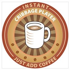 Instant Cribbage Player Wall Art Poster