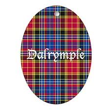 Tartan - Dalrymple Ornament (Oval)