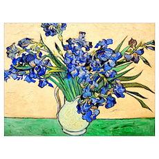 Van Gogh - Irises Wall Art Poster