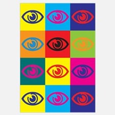 Optometry Pop Art Wall Art
