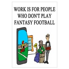 fantasy football fun gifts t- Wall Art