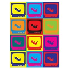Sonograms Pop Art Wall Art Poster