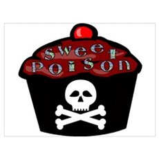 Sweet Poison Wall Art Poster