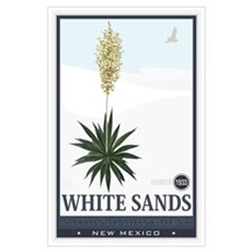 National Parks - White Sands 2 1 Wall Art Poster