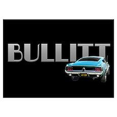 Bullitt Wall Art Poster