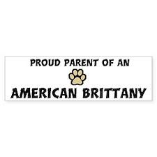 Proud Parent: American Britta Bumper Bumper Sticker