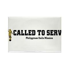 Philippines Iloilo LDS Missio Rectangle Magnet (10