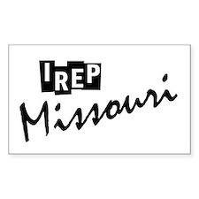 I rep Missouri Decal