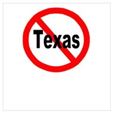 Texas Wall Art Poster