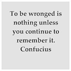 confucius wisdom Wall Art Poster
