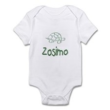 Green Turtle Zosimo Infant Creeper