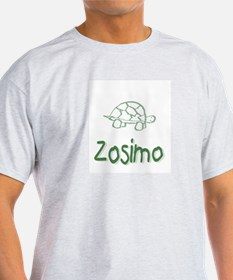 Green Turtle Zosimo Ash Grey T-Shirt