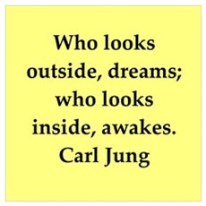 Carl Jung quotes Wall Art Poster