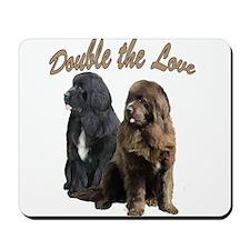 double Love Newfs Mousepad