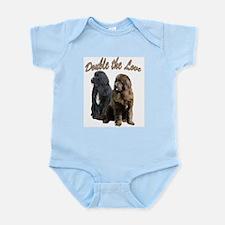 double Love Newfs Infant Bodysuit