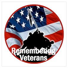 Veterans Wall Art Poster