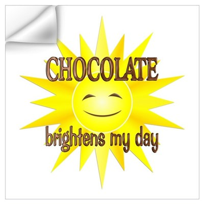 Chocolate Brightens Wall Art Wall Decal