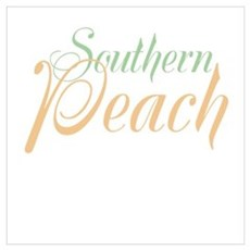 Southern Peach Wall Art Poster
