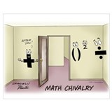 Funny math Framed Prints