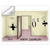 Funny math Wall Decals