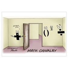 Math Chivalry Wall Art