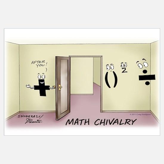 Math Chivalry Wall Art