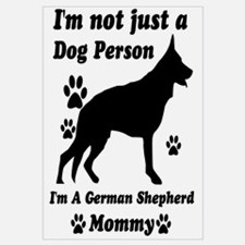 German shepherd mommy Wall Art