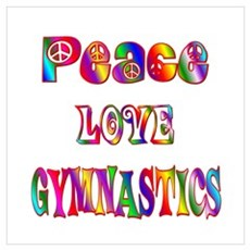 Gymnastics Wall Art Poster
