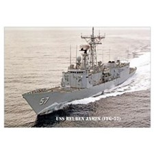 USS REUBEN JAMES Wall Art