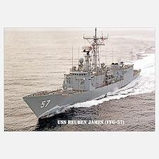 USS REUBEN JAMES Wall Art