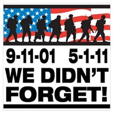 We Didn't Forget 9-11-01 Wall Art Canvas Art