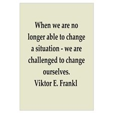 Viktor Frankl quote Wall Art