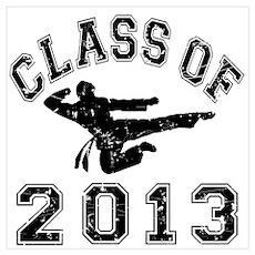 Class Of 2013 Martial Art Wall Art Poster