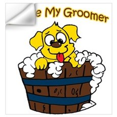 I Love My Groomer Wall Art Wall Decal